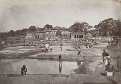 View of the Kundas or bathing places, Nasik 12515